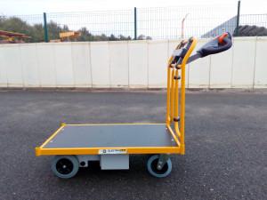 Chariot électrique pour manutention charges 150 kg - Devis sur Techni-Contact.com - 1