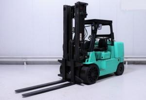 Chariot élévateur gaz d'occasion Mitsubishi 7000 kg - Devis sur Techni-Contact.com - 1
