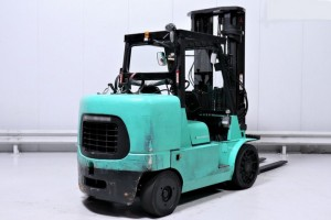 Chariot élévateur gaz d'occasion Mitsubishi 7000 kg - Devis sur Techni-Contact.com - 3