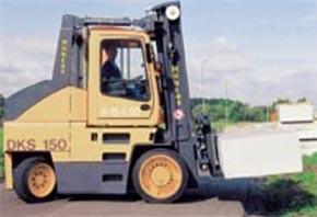 Chariot élévateur de manutention diesel 12000 kg - Devis sur Techni-Contact.com - 1