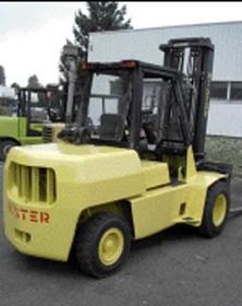 Chariot élévateur diesel hyster - Devis sur Techni-Contact.com - 1