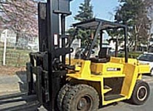 Chariot élévateur diesel occasion Caterpillar - Devis sur Techni-Contact.com - 1