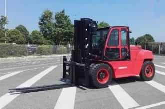 Chariot élévateur frontal 4 roues diesel - Devis sur Techni-Contact.com - 2