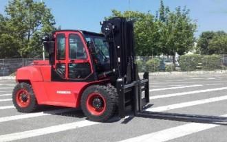 Chariot élévateur frontal 4 roues diesel - Devis sur Techni-Contact.com - 4