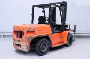 Chariot élévateur occasion diesel Daewoo 7000 kg - Devis sur Techni-Contact.com - 2