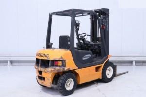Chariot élévateur occasion diesel Samsung 2500 kg - Devis sur Techni-Contact.com - 2