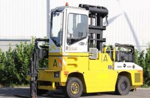 Chariot élévateur occasion latéral diesel 6000 kg - Devis sur Techni-Contact.com - 1
