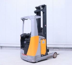 Chariot élévateur rétractable occasion 1400 kg - Devis sur Techni-Contact.com - 1