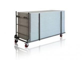 Chariot en acier pour transport tables - Devis sur Techni-Contact.com - 1