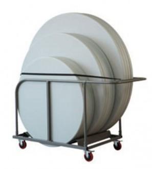 Chariot en acier pour transport tables - Devis sur Techni-Contact.com - 2