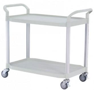 Chariot en plastique à 2 plateaux - Devis sur Techni-Contact.com - 3
