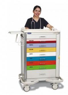 Chariot hospitalier multifonction - Devis sur Techni-Contact.com - 2