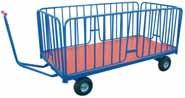 Chariot manipulateur à ridelles amovibles - Devis sur Techni-Contact.com - 1