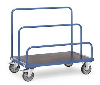 Chariot manuel porte-panneaux 750 à 1200 Kg - Devis sur Techni-Contact.com - 1