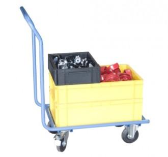 Chariot manutention bacs plastiques - Devis sur Techni-Contact.com - 1