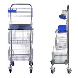 Chariot médical en inox - Devis sur Techni-Contact.com - 1
