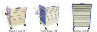 Chariot médical modulable - Devis sur Techni-Contact.com - 1
