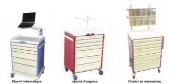 Chariot médical modulable - Devis sur Techni-Contact.com - 2