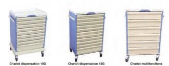 Chariot médical modulable - Devis sur Techni-Contact.com - 3