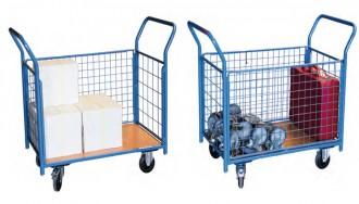 Chariot modulaire grillagé - Devis sur Techni-Contact.com - 3