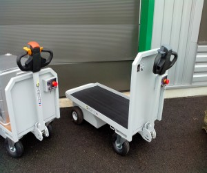 Chariot motorisé 300 kg - Devis sur Techni-Contact.com - 1