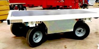 Chariot motorisé électrique 1600 kg - Devis sur Techni-Contact.com - 1