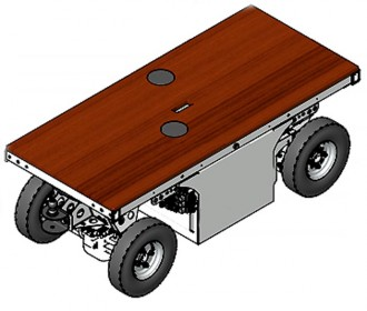 Chariot motorisé électrique 1600 kg - Devis sur Techni-Contact.com - 3