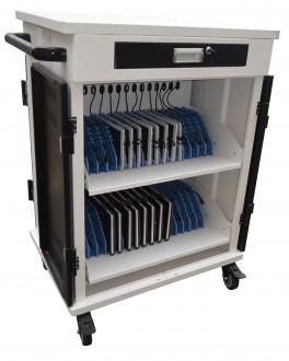 Chariot multimédia 30 tablettes ou PC portables - Devis sur Techni-Contact.com - 1