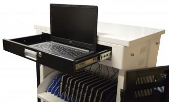 Chariot multimédia 30 tablettes ou PC portables - Devis sur Techni-Contact.com - 5