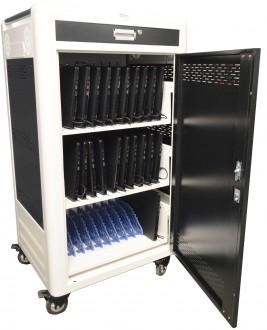 Chariot multimédia 30 tablettes ou PC portables 15,6'' - Devis sur Techni-Contact.com - 1