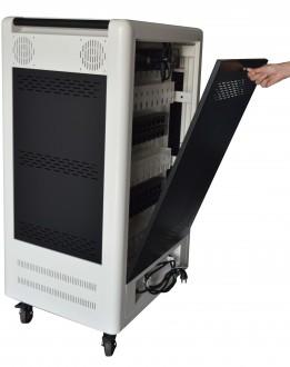 Chariot multimédia 30 tablettes ou PC portables 15,6'' - Devis sur Techni-Contact.com - 6