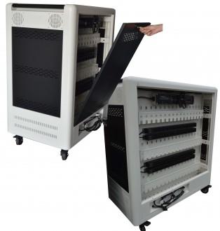 Chariot multimédia 50 tablettes ou PC portables - Devis sur Techni-Contact.com - 2