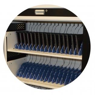 Chariot multimédia 50 tablettes ou PC portables - Devis sur Techni-Contact.com - 3
