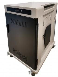 Chariot multimédia pour 24 tablettes et pc portables - Devis sur Techni-Contact.com - 5