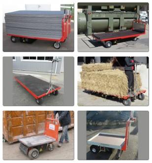 Chariot plateau motorisé - Devis sur Techni-Contact.com - 1
