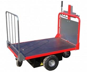 Chariot plateau motorisé - Devis sur Techni-Contact.com - 2