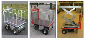 Chariot plateau motorisé - Devis sur Techni-Contact.com - 3