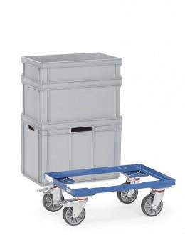 Chariot porte bacs plastique - Devis sur Techni-Contact.com - 1