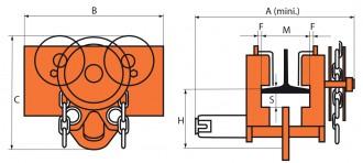 Chariot porte-palan en acier - Devis sur Techni-Contact.com - 2