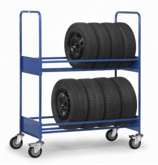 Chariot porte pneus - Devis sur Techni-Contact.com - 1