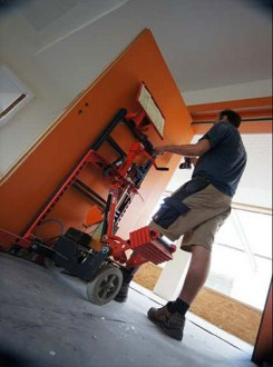 Chariot pose porte - Devis sur Techni-Contact.com - 5