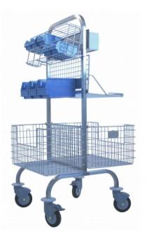 Chariot pour bloc opératoire - Devis sur Techni-Contact.com - 1