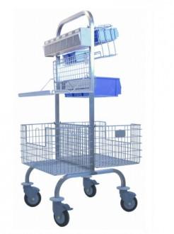 Chariot pour bloc opératoire - Devis sur Techni-Contact.com - 2