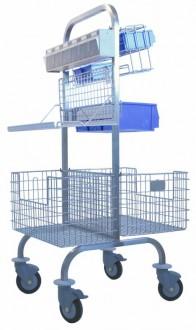 Chariot pour bloc opératoire - Devis sur Techni-Contact.com - 3