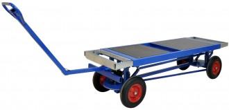 Chariot pour charges lourdes 1500 kg - Devis sur Techni-Contact.com - 1