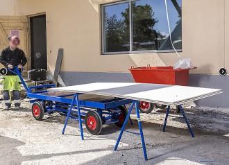 Chariot pour charges lourdes 1500 kg - Devis sur Techni-Contact.com - 2