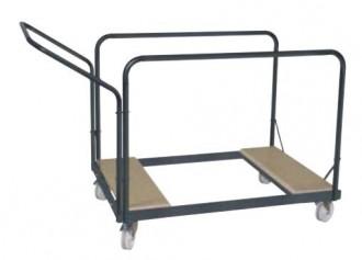 Chariot pour tables rondes - Devis sur Techni-Contact.com - 1