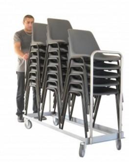 Chariot pour transport de chaises - Devis sur Techni-Contact.com - 1