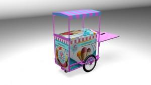 Chariot réfrigéré mobile personnalisable - Devis sur Techni-Contact.com - 1