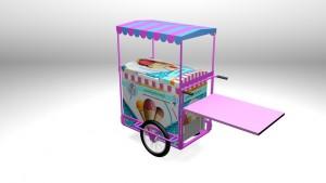 Chariot réfrigéré mobile personnalisable - Devis sur Techni-Contact.com - 2